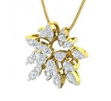 Natural Diamond Pendant 0.87 CT / 4.00 gm Gold