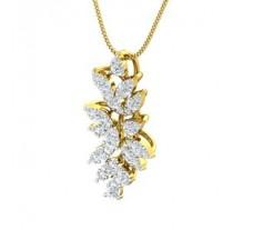 Natural Diamond Pendant 0.84 CT / 4.10 gm Gold