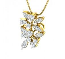 Natural Diamond Pendant 0.74 CT / 3.20 gm Gold
