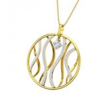 Natural Diamond Pendant 0.78 CT / 5.20 gm Gold