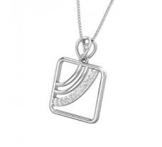 Natural Diamond Pendant for Men 0.13 CT / 2.00 gm Gold