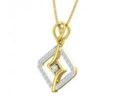 Natural Diamond Pendant for Men 0.20 CT / 2.20 gm Gold