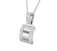 Natural Diamond Pendant for Men 0.26 CT / 2.30 gm Gold