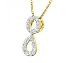 Natural Diamond Pendant 0.21 CT / 0.80 gm Gold