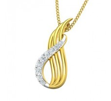 Natural Diamond Pendant 0.11 CT / 1.00 gm Gold