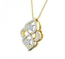 Natural Diamond Pendant 0.62 CT / 3.10 gm Gold
