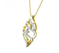 Natural Diamond Pendant 0.28 CT / 2.20 gm Gold
