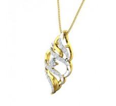 Natural Diamond Pendant 0.28 CT / 2.20 gm Gold