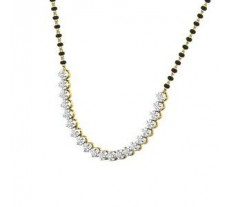 Natural Diamond Tanmaniya 1.26 CT / 7.30 gm Gold