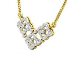 Natural Diamond Tanmaniya 0.64 CT / 3.70 gm Gold