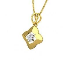 Natural Diamond Pendant 0.07 CT / 1.06 gm Gold