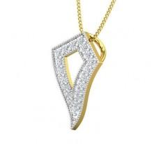 Natural Diamond Pendant 0.29 CT / 1.50 gm Gold