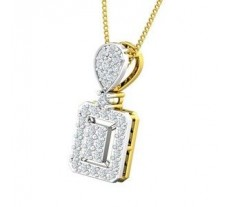 Natural Diamond Pendant 0.36 CT / 2.00 gm Gold