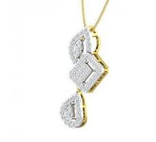 Natural Diamond Pendant 0.63 CT / 3.35 gm Gold