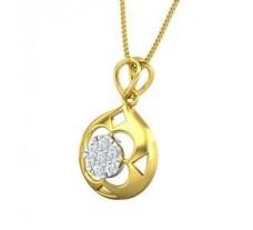 Natural Diamond Pendant 0.21 CT / 2.01 gm Gold