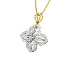 Natural Diamond Pendant 0.49 CT / 2.49 gm Gold