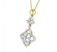 Natural Diamond Pendant 0.63 CT / 3.63 gm Gold