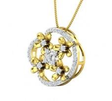 Natural Diamond Pendant 0.62 CT / 3.13 gm Gold