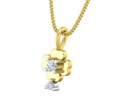 Natural Diamond Pendant 0.09 CT / 0.70 gm Gold