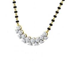Natural Diamond Tanmaniya 0.69 CT / 2.86 gm Gold