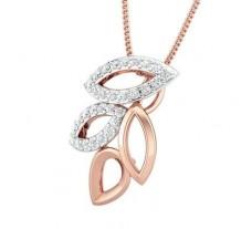 Natural Diamond Pendant 0.30 CT / 2.07 gm Gold