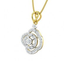 Natural Diamond Pendant 0.49 CT / 1.94 gm Gold