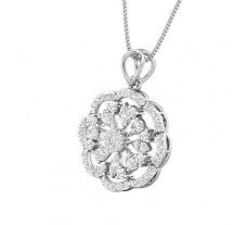 Natural Diamond Pendant 0.88 CT / 3.45 gm Gold