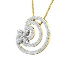 Natural Diamond Pendant 0.69 CT / 2.62 gm Gold
