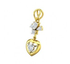 Natural Diamond Pendant 0.31 CT / 1.66 gm Gold
