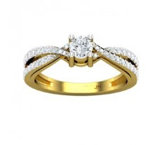 Natural Diamond Solitaire Ring 0.56 CT / 4.00 gm Gold