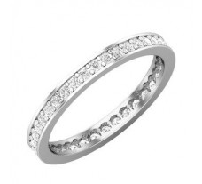 Natural Diamond Band 0.46 CT / 2.00 gm Gold