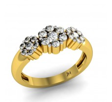 Natural Diamond Designer Ring 0.48 CT / 4.00 gm Gold