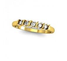 Natural Diamond Designer Ring 0.12 CT / 1.92 gm Gold
