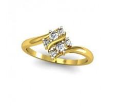 Natural Diamond Designer Ring 0.17 CT / 2.55 gm Gold