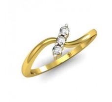 Natural Diamond Designer Ring 0.09 CT / 2.38 gm Gold