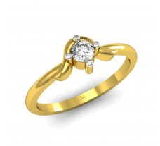 Natural Diamond Designer Ring 0.14 CT / 2.46 gm Gold