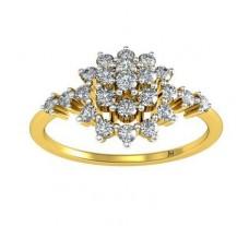 Natural Diamond Ring 0.40 CT / 2.30 gm Gold