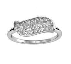 Natural Diamond Ring 0.30 CT / 1.80 gm Gold
