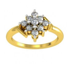 Natural Diamond Ring 0.34 CT / 3.20 gm Gold
