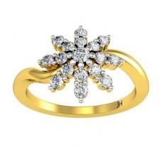 Natural Diamond Ring 0.41 CT / 2.85 gm Gold