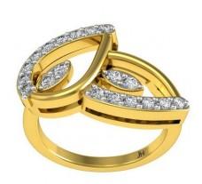 Natural Diamond Ring 0.35 CT / 4.27 gm Gold