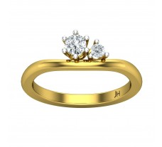Natural Diamond Ring 0.26 CT / 3.00 gm Gold