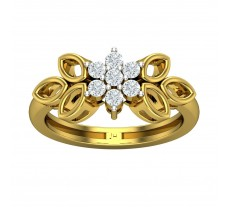 Natural Diamond Ring 0.315 CT / 4.20 gm Gold