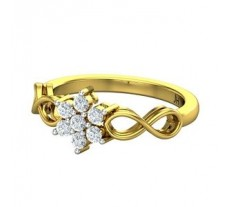 Natural Diamond Ring 0.31 CT / 3.65 gm Gold