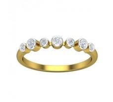 Natural Diamond Ring 0.20 CT / 1.86 gm Gold