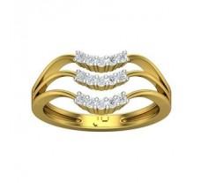 Natural Diamond Ring 0.22 CT / 3.65 gm Gold