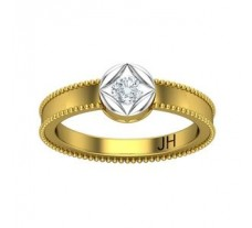 Natural Diamond Ring 0.21 CT / 3.85 gm Gold