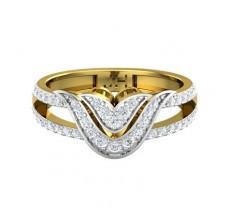 Natural Diamond Ring 0.50 CT / 3.59 gm Gold