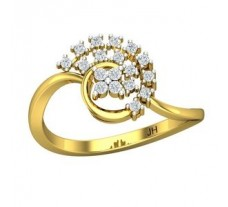 Diamond Ring 0.20 CT / 2.45 gm Gold