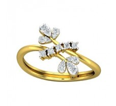 Natural Diamond Ring 0.22 CT / 2.50 gm Gold